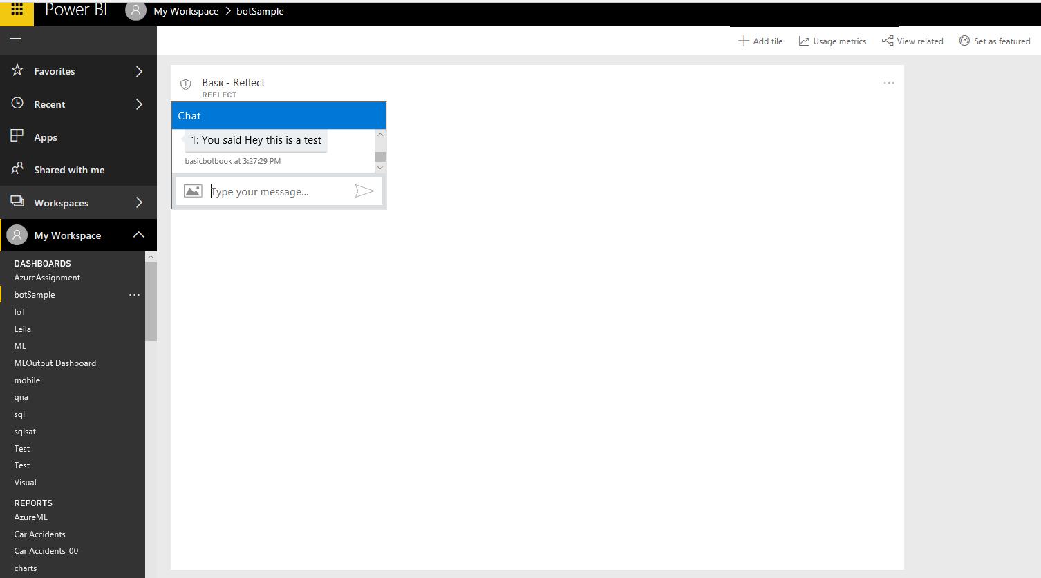 Microsoft Bot -Part1: Create a sample – RADACAD