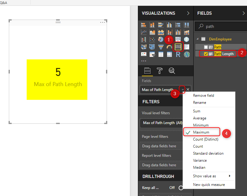 Parsing Organizational Hierarchy or Chart of Accounts in Power BI