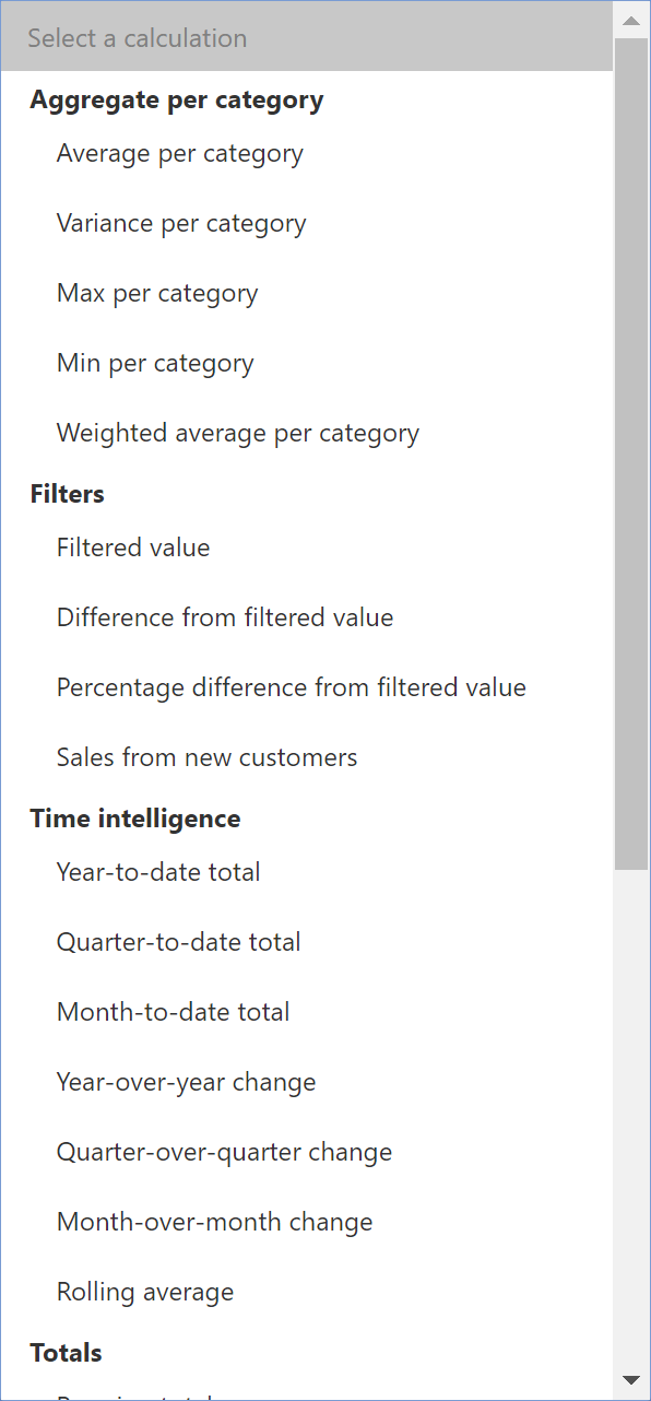 Quick Measures in Power BI: You don't have to write DAX!? | RADACAD