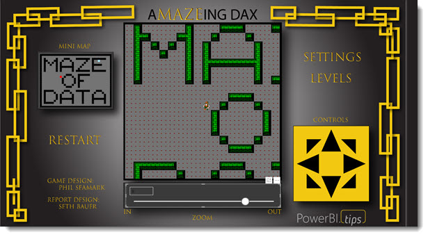 Fun with DAX – A-Maze-ing DAX