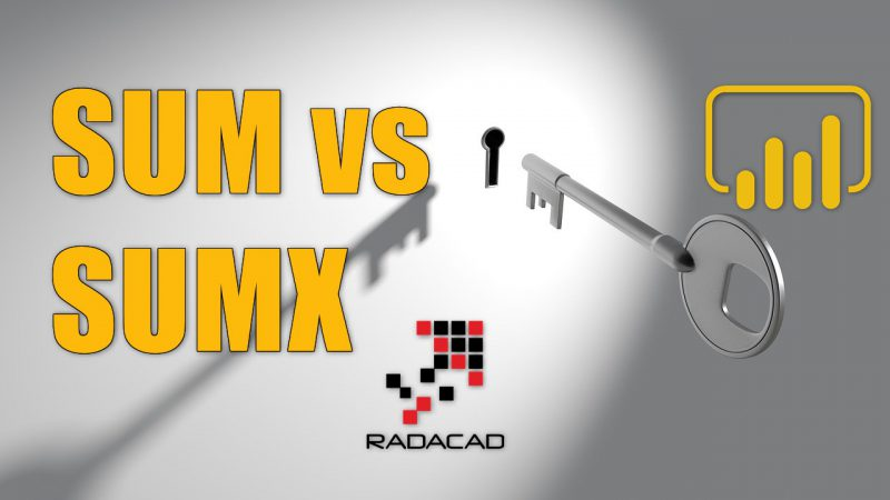 SUM vs SUMX; What is the Difference of the two DAX Functions in Power BI?