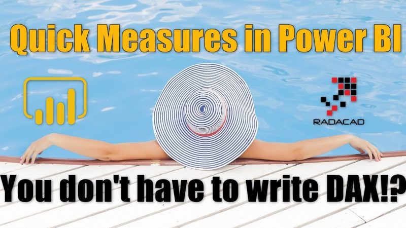 Quick Measures in Power BI: You don't have to write DAX!?