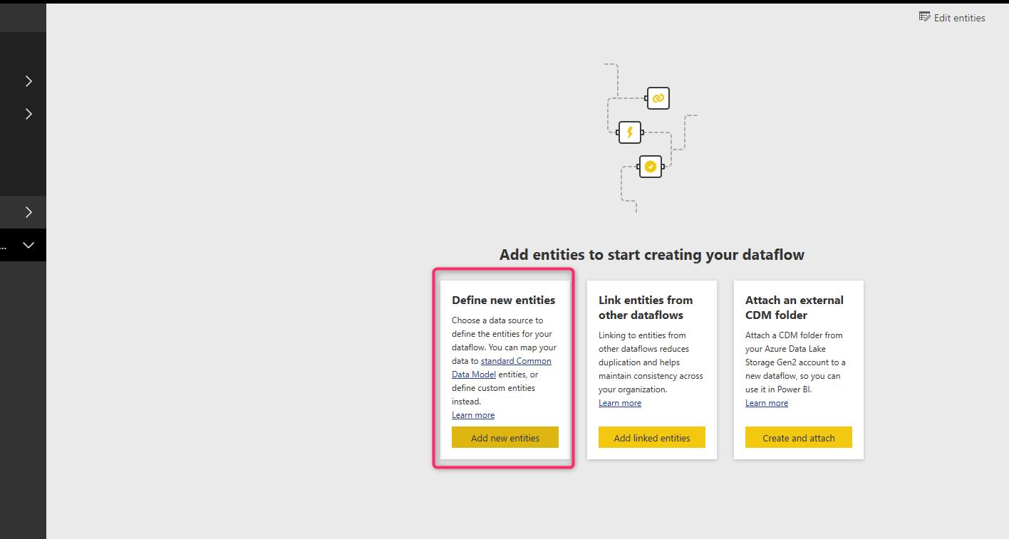 AI in Dataflow, Power BI webservice, Cognitive Service