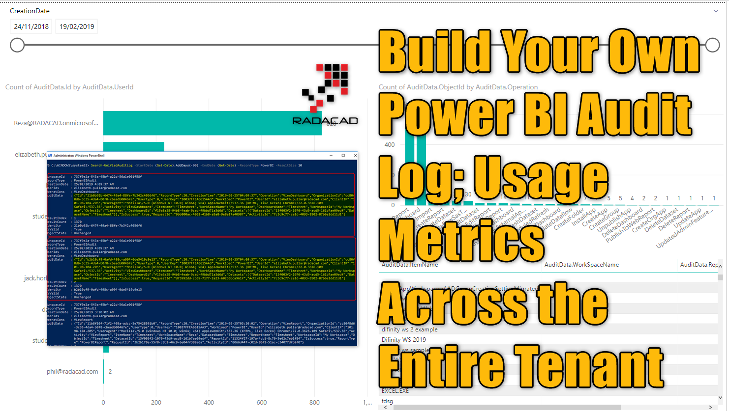 Build Your Own Power BI Audit Log