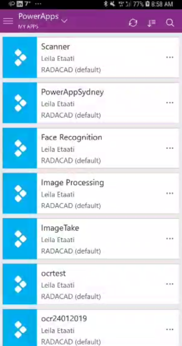Barcode Scanner with Microsoft Power App – RADACAD