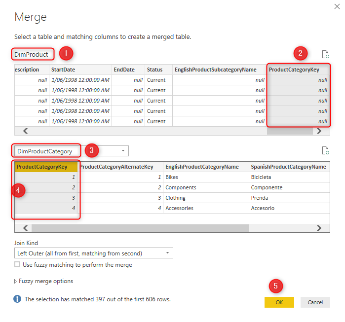 Combining Dimension Tables in Power BI using Power Query: Basics and