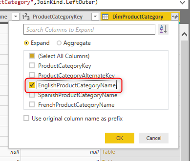 Combining Dimension Tables in Power BI using Power Query