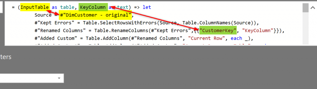 Exception Reporting in Power Query and Power BI