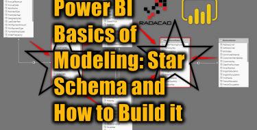Power BI Basics of Modeling: Star Schema and How to Build it