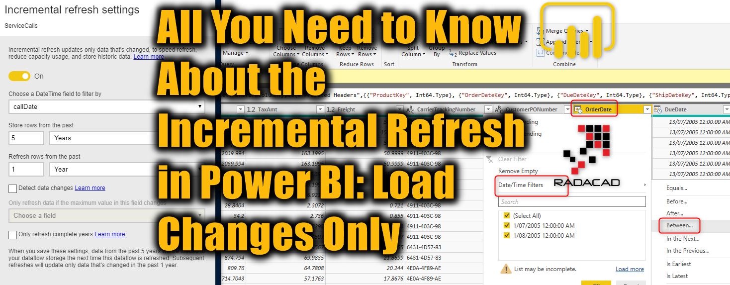 All You Need to Know About the Incremental Refresh in Power