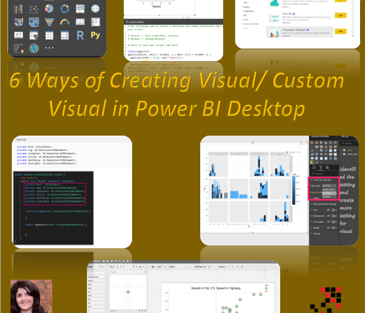 Create Visual/Custom Visual for Power BI: Different Approaches
