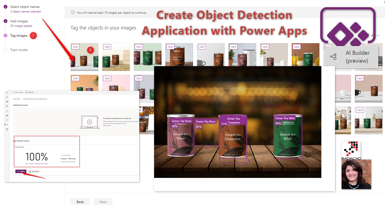 Object Detection Application with AI Builder and Power Apps