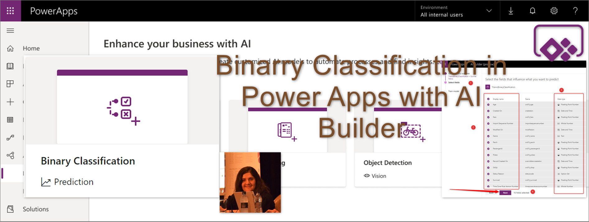 AI Builder: AI Embedded in Power Apps- Part 2 – RADACAD
