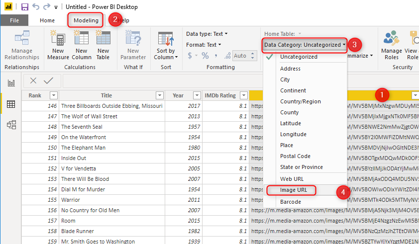 Get Images from Web Page Into the Power BI Report Using